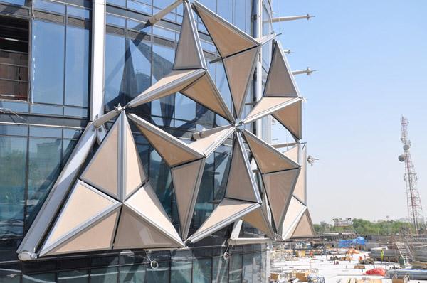 Las torres Al Bahar sistemas de sombra para rascacielos (10)