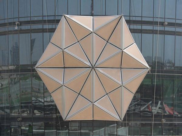 Las torres Al Bahar sistemas de sombra para rascacielos (8)