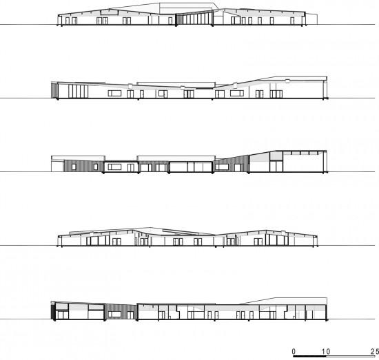 Planos de centro de cuidados médicos en madera (1)