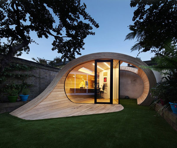 Planos de estructura para oficina en el jardín (8)