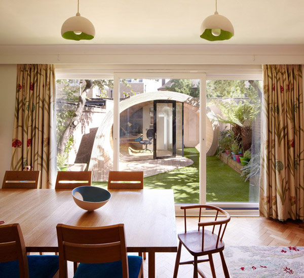 Planos de estructura para oficina en el jardín (2)