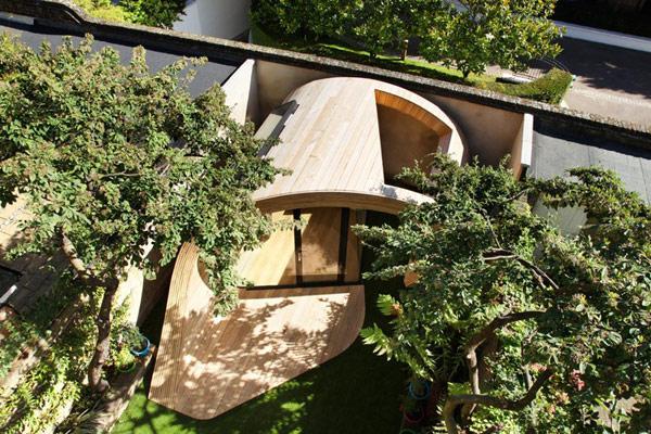 Planos de estructura para oficina en el jardín (4)
