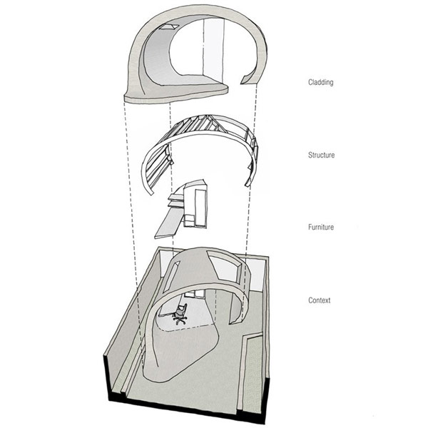 Planos de estructura para oficina en el jardín (1)