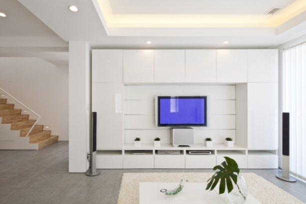 casa moderna con diseo de interiores zen