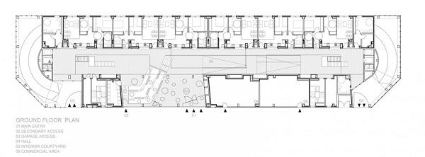 Complejo de apartamentos en España 123 social green