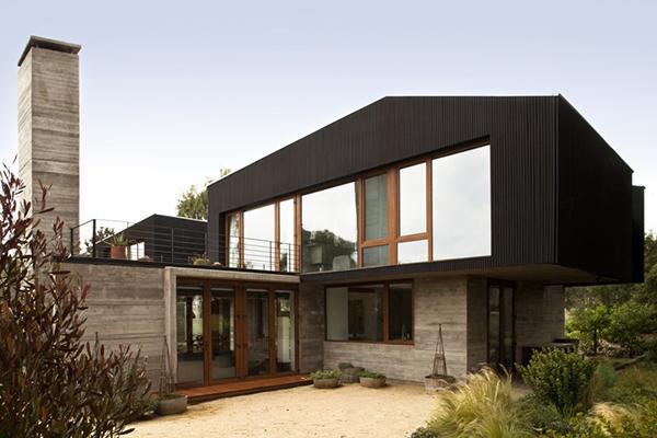Diseño ejecutivo de casa moderna en el bosque (3)