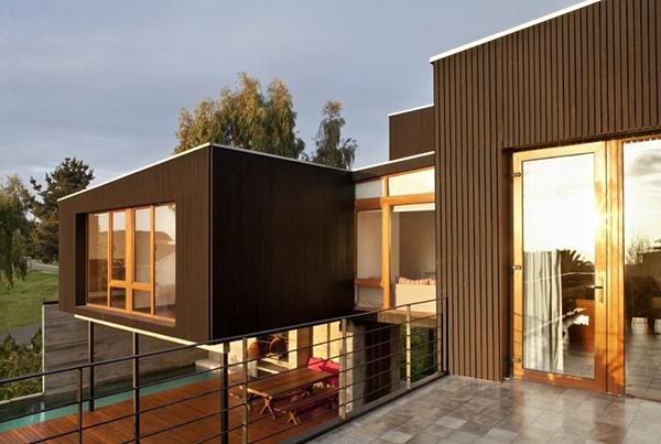 Diseño ejecutivo de casa moderna en el bosque (12)