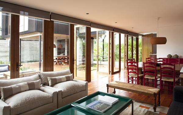 Diseño ejecutivo de casa moderna en el bosque (9)
