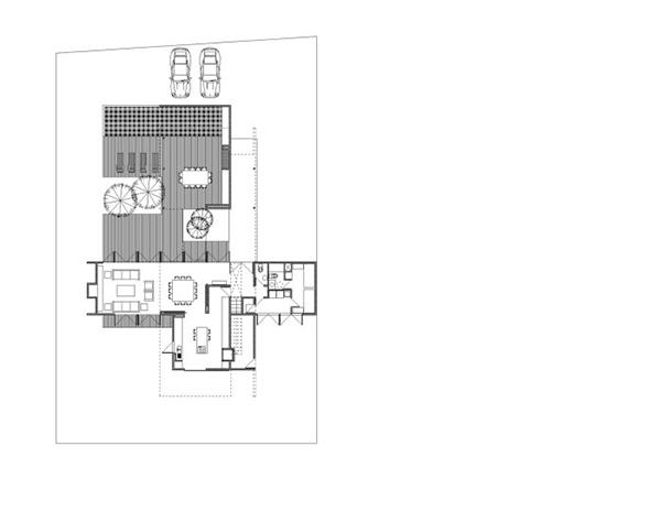 Diseño ejecutivo de casa moderna en el bosque (5)
