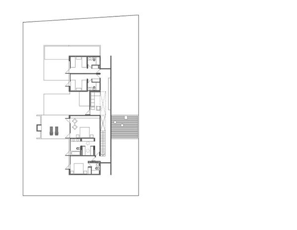 Diseño ejecutivo de casa moderna en el bosque (6)