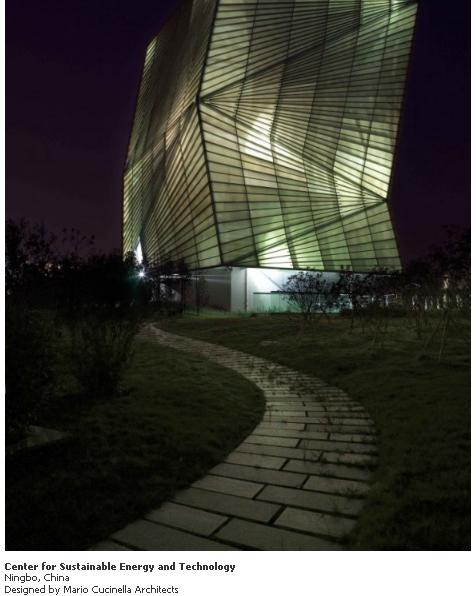 Arquitectura e iluminación – Modelos de casas y edificios creativamente iluminados