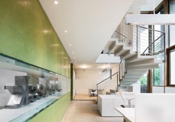 Diseños de oficinas hechos con Autocad – Las nuevas oficinas de Autodesk en Italia