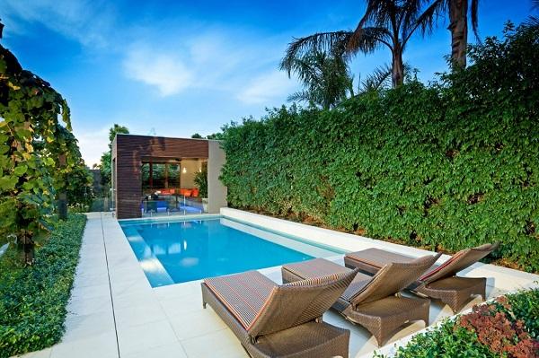 Perfeccion e impecabilidad en casa minimalista de Australia