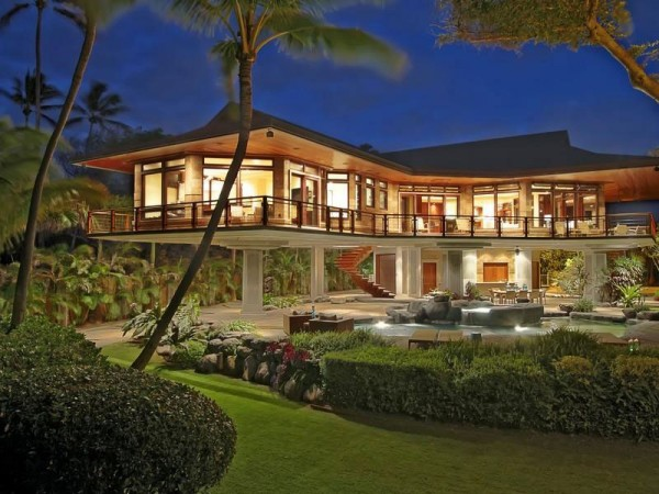 La frescura de Spreckelsville en hawaii marmol y lujo frente a la costa privada