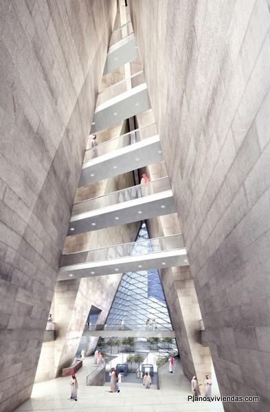 SOM ARCHITECTS - construyendo las torres Muqarnas en el medio oriente