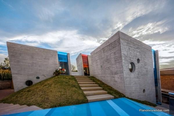 Escuela Kinder green hills mostrando gran creatividad del diseño arquitectural mexicano
