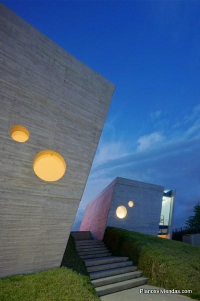 Arquitectura educacional Kinder green hills mostrando gran creatividad del diseño arquitectural mexicano