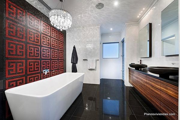 Tecnología en casa contemporanea australiana un estilo de vida diferente