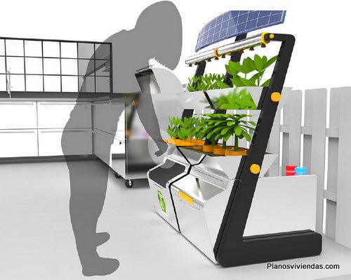 Diseño de casas del futuro según Generalelectric (2)
