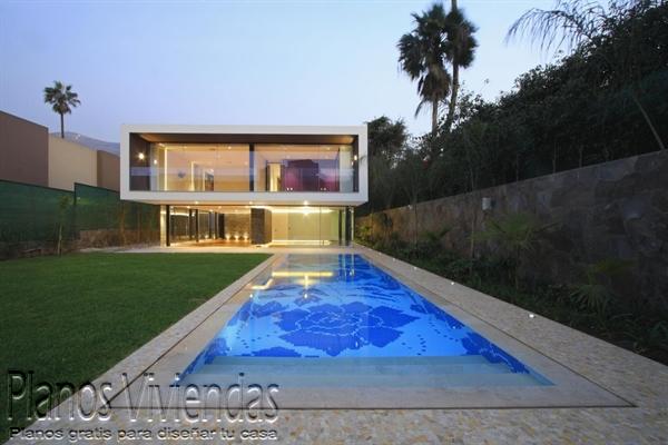 30 fotos de fachadas de casas de vidrio