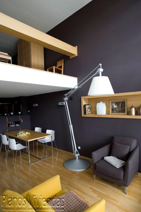 Mezzanine moderno en ambiente grisaceo (3)