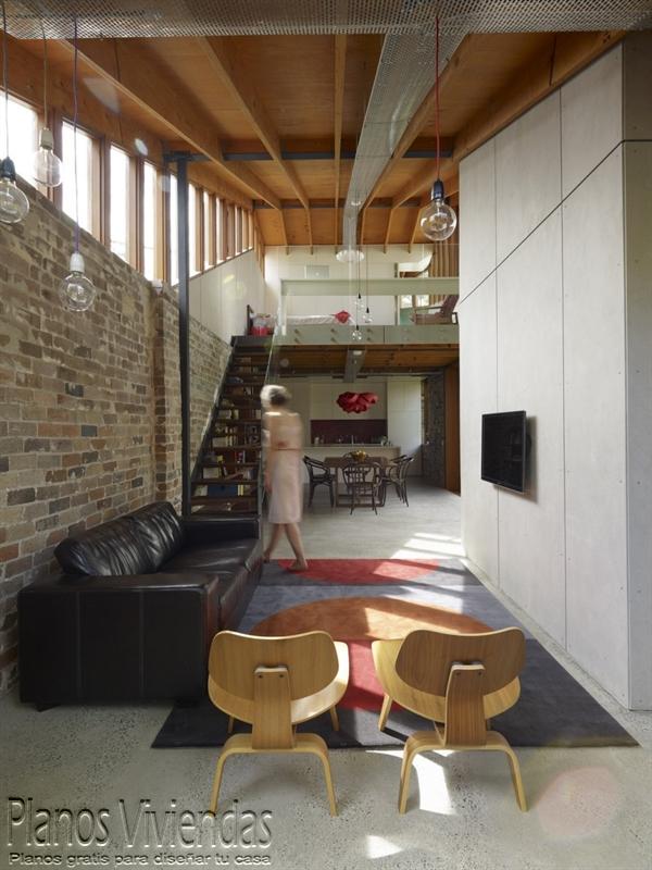 Mezzanine moderno en ambiente rustico (6)
