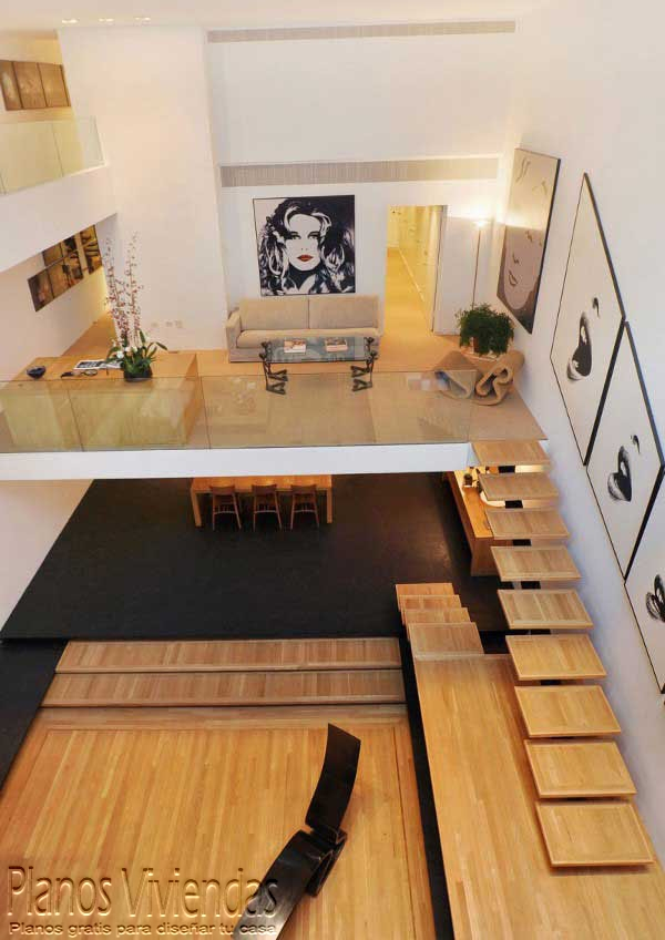 Mezzanine moderno en ambiente sesentas  (10)