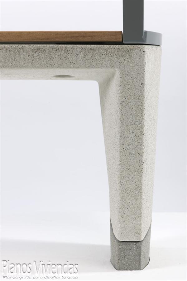 Fina y delicada mueblería de concreto directamente desde el reino unido (8)
