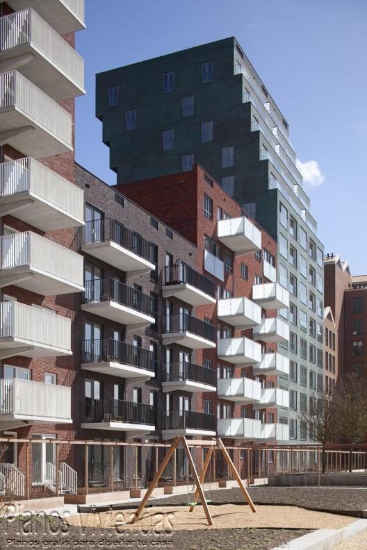 Hermoso complejo residencial en Rotterdam, Países Bajos (2)