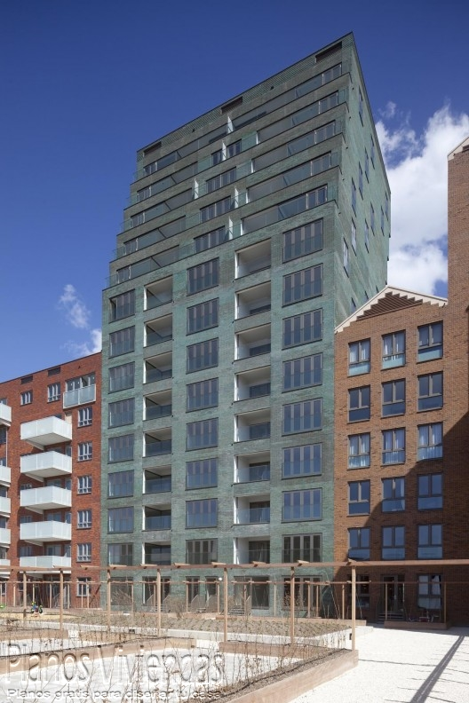 Hermoso complejo residencial en Rotterdam, Países Bajos (4)