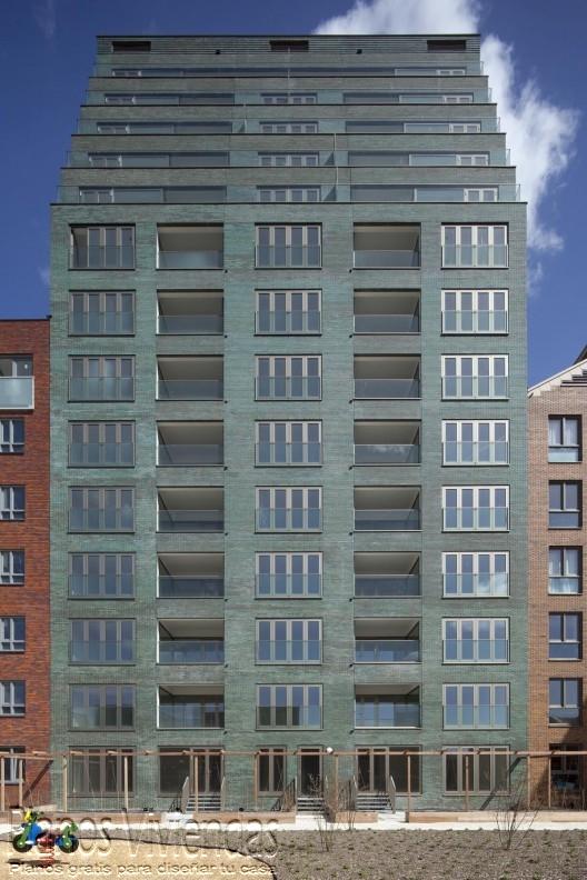 Hermoso complejo residencial en Rotterdam, Países Bajos (7)