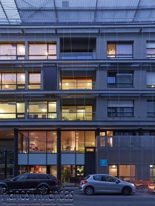 Planos de guardería en Nantes Francia por arquitectos a/LTA