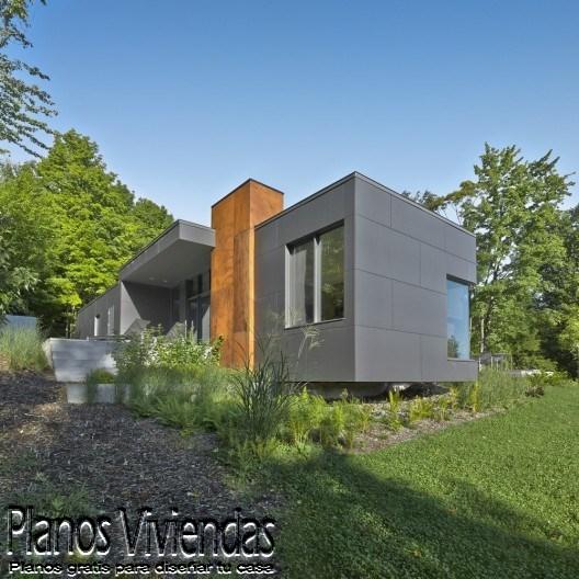 T House otra casa urbana de Natalie Dionne Architecture  (3)