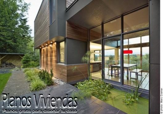 T House otra casa urbana de Natalie Dionne Architecture  (8)