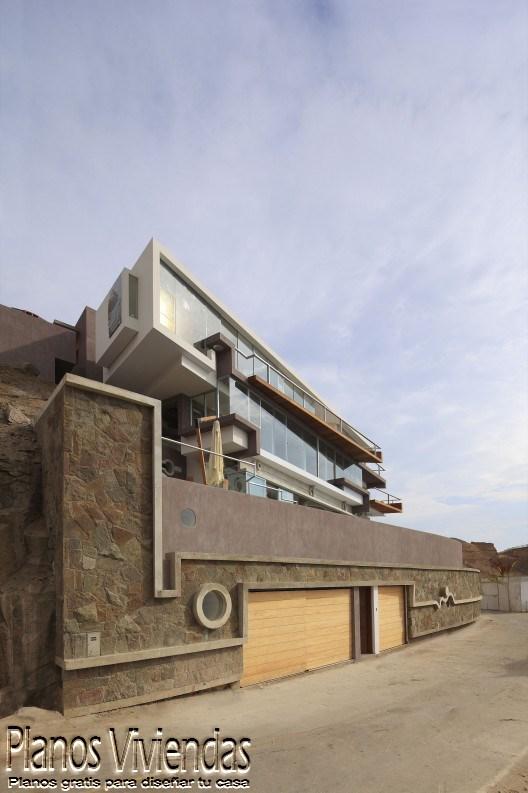 Casa de playa verónica por arquitecto Longhi en Perú (2)
