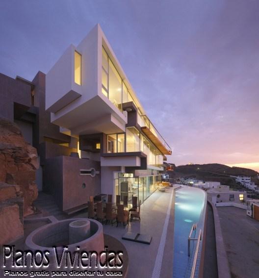 Casa de playa verónica por arquitecto Longhi en Perú (4)