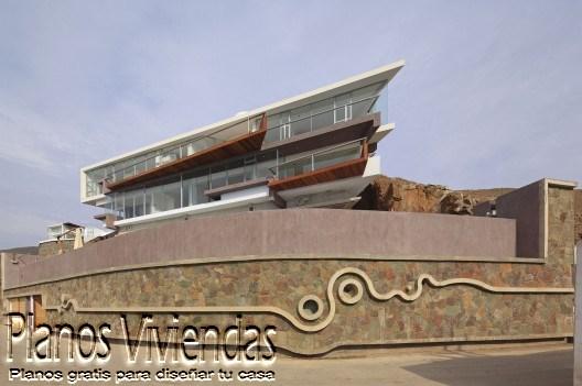 Casa de playa verónica por arquitecto Longhi en Perú (8)