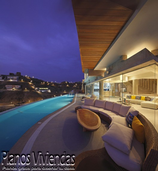 Casa de playa verónica por arquitecto Longhi en Perú (3)