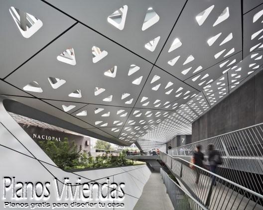 Cineteca Nacional siglo 21 por Rojkind Arquitectos en México