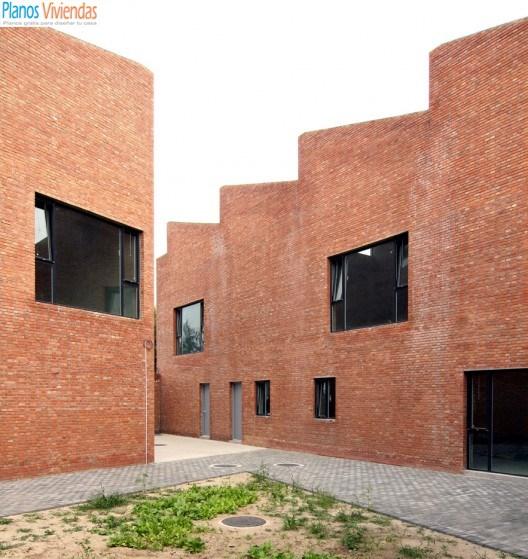 Estudios de Artistas por arquitectos Knowspace en Songzhuan, China (2)