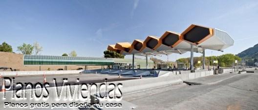 Modelos de estaciones de Peaje modernas españolas (5)