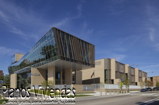 UC Lab School por FGM Arquitectos en Illinois