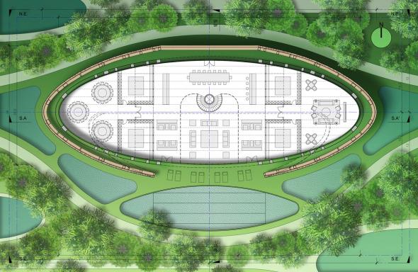 Bioclimática - eco villa en China (10)