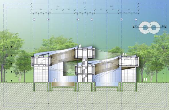 Bioclimática - eco villa en China (11)