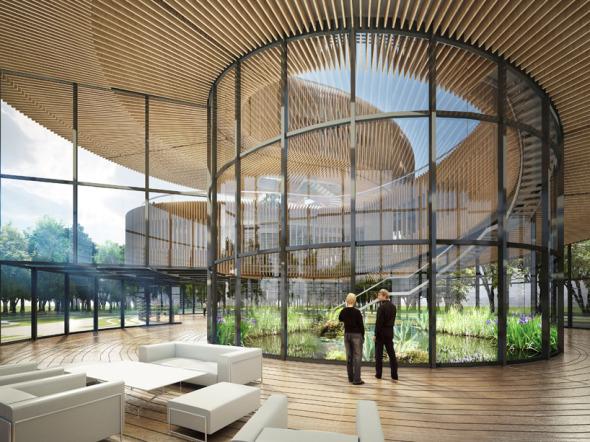 Bioclimática - eco villa en China (7)