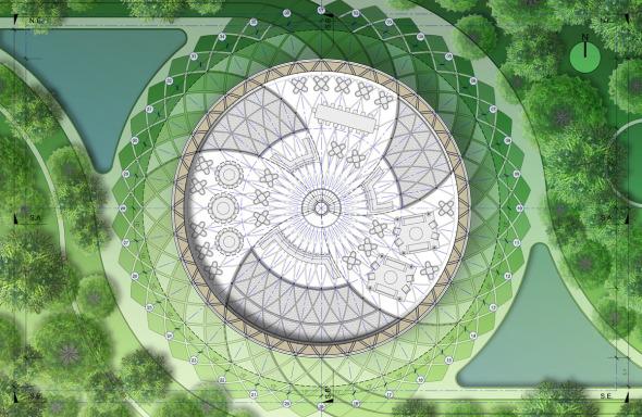 Bioclimática - eco villa en China (9)