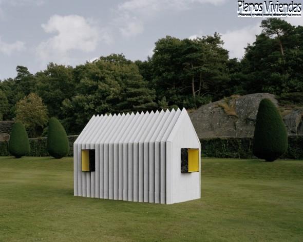Casa camaleón por White arquitectos en Suecia (3)