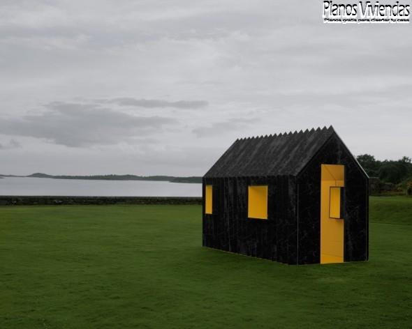 Casa camaleón por White arquitectos en Suecia (4)