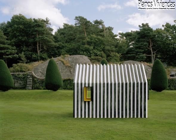 Casa camaleón por White arquitectos en Suecia (5)