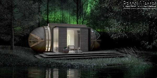 DROP XL de In-tenta es una casa autosostenible que promete mejorar el ecoturismo (2)
